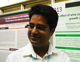 Mahesh Chandra, post-doc fellow Instituto Superior de Agronomia, Universidade de Lisboa.